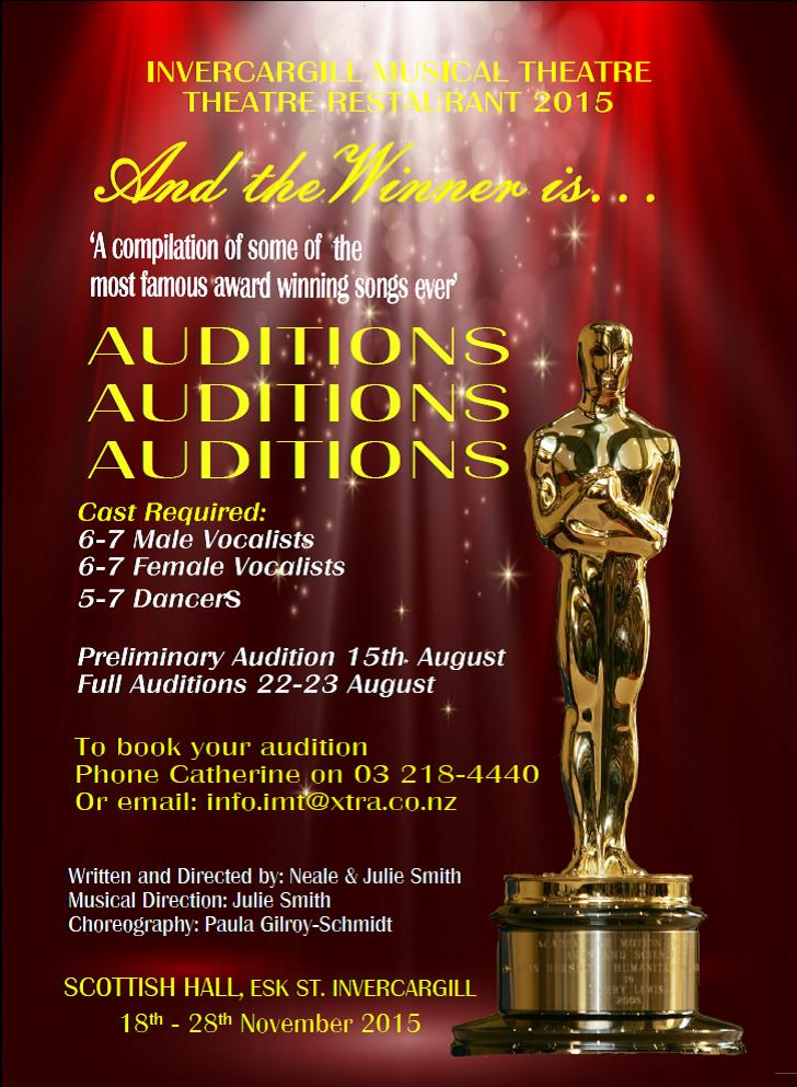 And the Winner is - Audition Jpeg